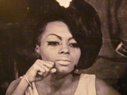 Diana Ross, is featured in the publication as she sat quietly backstage at the Apollo, before one of Diana's performances.