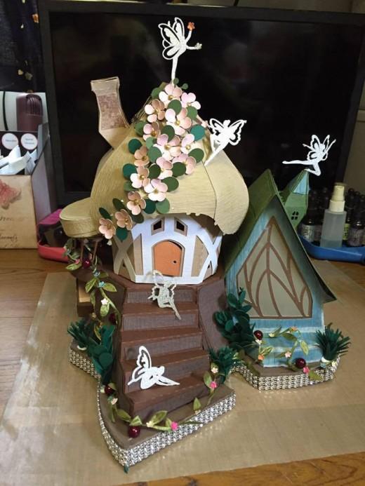 A fairy tale house.