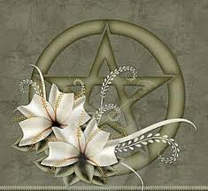This is a Wiccan pentacle. A pentacle represents the sacred elements of earth, air, fire, water, and spirit.