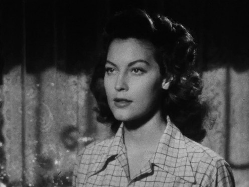 The lovely, exquisite Ava Gardner in the film, The Killers.