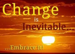 Changes Are Inevitable in Human Life!