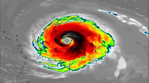 See the Leewards Islands sketched to the left of Irma's eye.