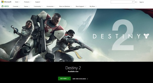 """Open your Web browser and navigate to www.xbox.com. Click """"Sign In"""" in the upper right corner of the screen."""