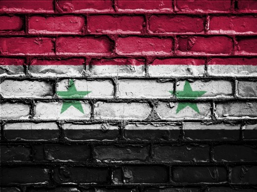 Syrian Flag National Flag