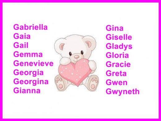 girls names and meanings hubpages