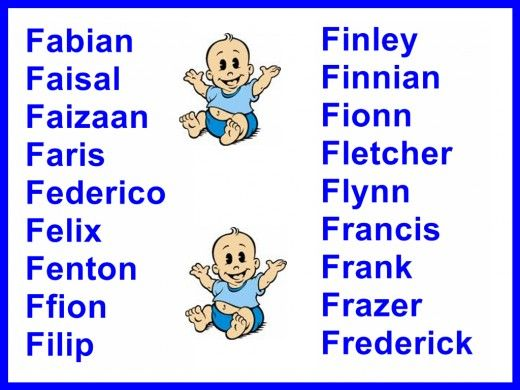 Boys Names And Meanings | HubPages