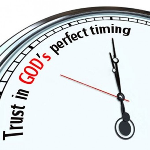 The Timing of Events is Always Perfect When it Comes to Father God Almighty!!