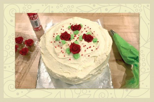 How to Make a Custard-Filled Cake With Mousse Frosting