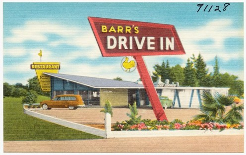 Barr's Drive in Restaurant.