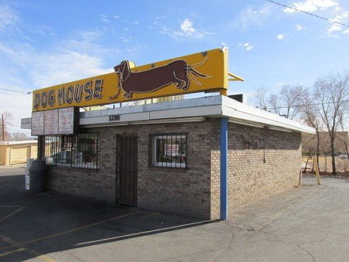 Dog  House Drive-In Albuquerque New Mexico.