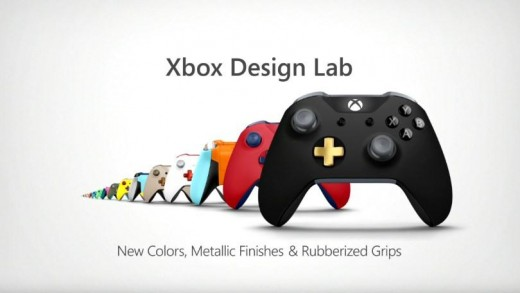 "The Latest Evolutionary Design Controlled Personalisation for Xbox One controllers - known as Xbox ""Design Lab""."