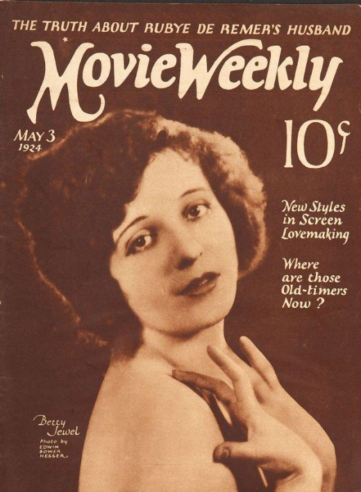 By 1924, Betty Jewel deserved her spot on the cover.