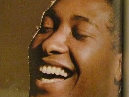 The late Sam Cook, is featured as one of the major entertainers who performed at the Apollo Theater.