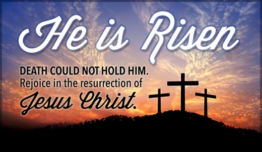 King Jesus Christ is Risen!!