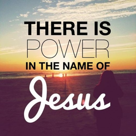 There Is Great Power in the Name of Jesus Christ!