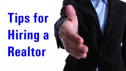 Tips for hiring a Realtor