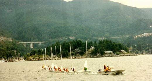 A sailing school
