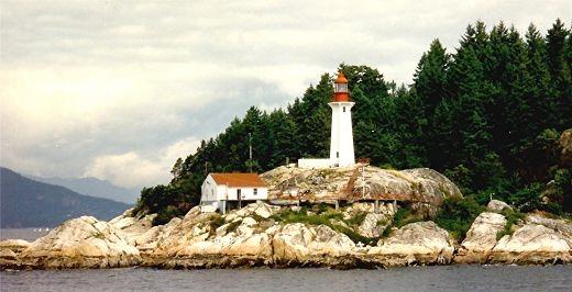 A pretty lighthouse