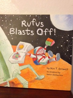 Read With Rufus From the Red Planet in Kim Griswell's New Picture Book