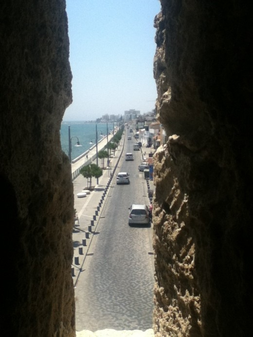 Fortress View over Larnaca