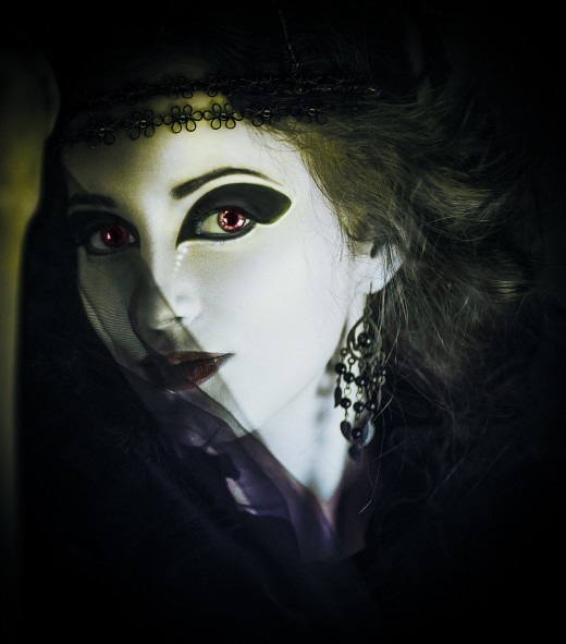 High quality theater make-up will bring out the inner ghoul or goddess in people who love to dress up for Halloween.