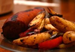 Kielbasa Sausage Stir Fry Recipe with Onion and Peppers
