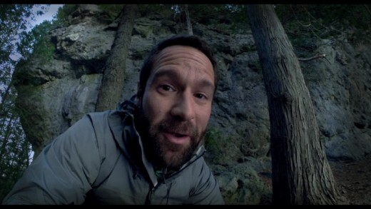 Chris Diamantopoulos plays Doug Woods. A guy with a name to suit his surroundings
