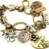 Heart Charm Bracelets and Charms