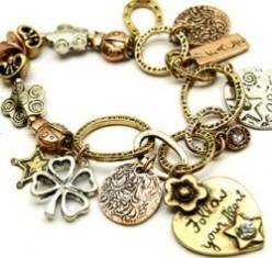 Heart Charm Bracelets