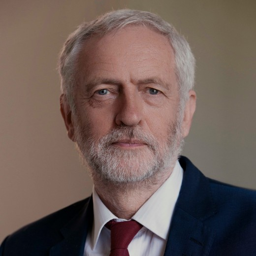 Jeremy Corbyn:  Labour leader and potential Prime Minister