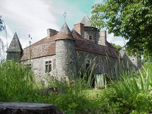 Chateau de Bonnu, région Centre-Val de Loire.