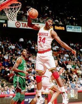 Hakeem Olajuwan, NBA Hall of Famer