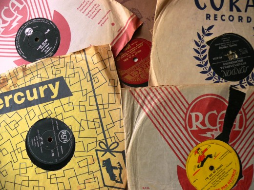 Some 7 Singles from Decca, Mercury and Gallo Labels
