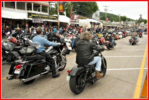 Try something really different. such as attending a motorcycle rally!