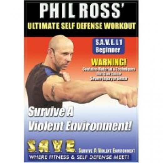 A top rated martial arts DVD - Phil Ross / Ultimate Self Defense