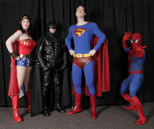 Super Hero Halloween Costume Ideas