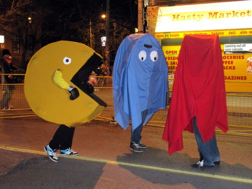 PAC Man Group Halloween Costume Idea