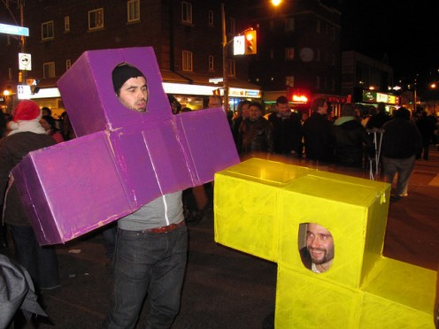 Tetris Game Group Halloween Costume Idea