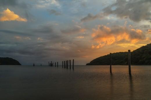 Siwangag Cove Dusk