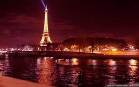 The Purple Charm: Eiffel Tower