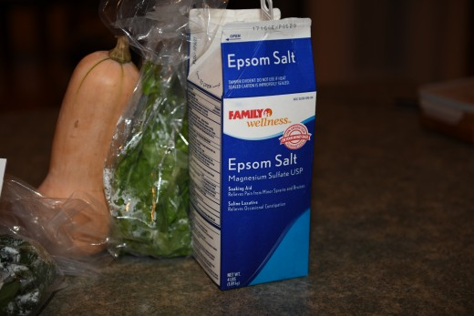 I take an Epsom Salt bath at least three times a week. It's a great for detoxing and to relieve some of the pain.
