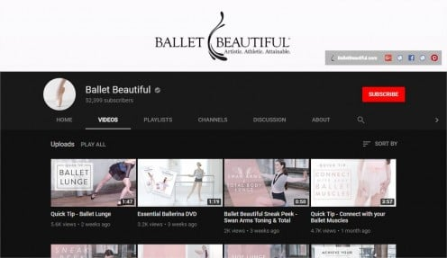 Ballet | Flexibility | The Best Online Yoga Classes (6  Great Yoga and Fitness YouTube Channels) | Ballet Beautiful