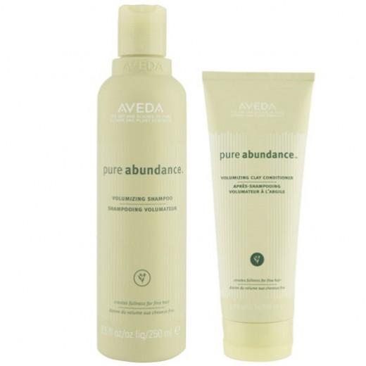Aveda Pure Abundance Volumizing Shampoo and conditioner