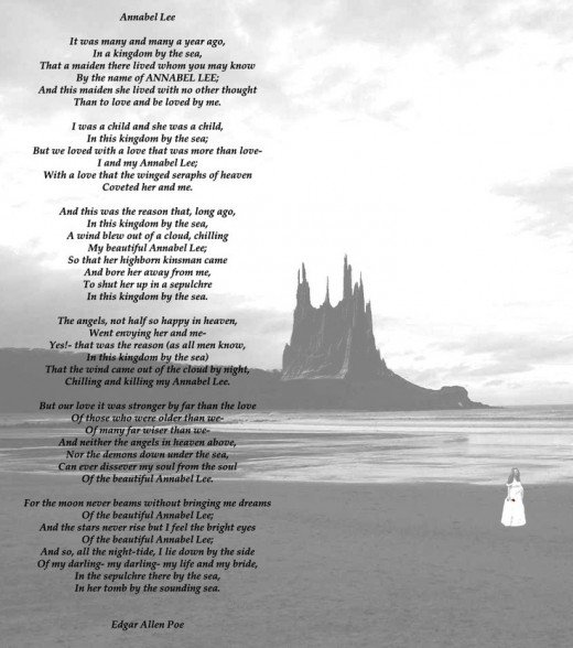 analysis of poem annabel lee by edgar allan poe owlcation annabel lee source