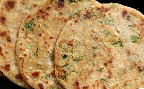 Paneer vegetable flatbread