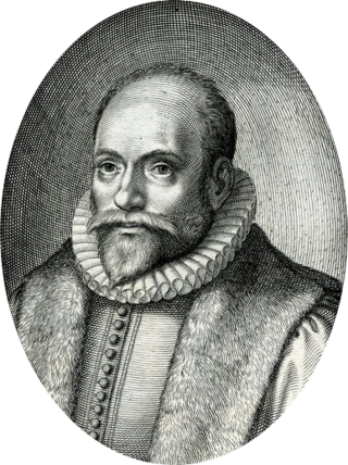 This photo is black and white of dutch Theologian Jacob Arminius and he is the student of John Calvin