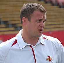 Tom Herman served as Iowa State offensive co-ordinator before he was Texas head coach.