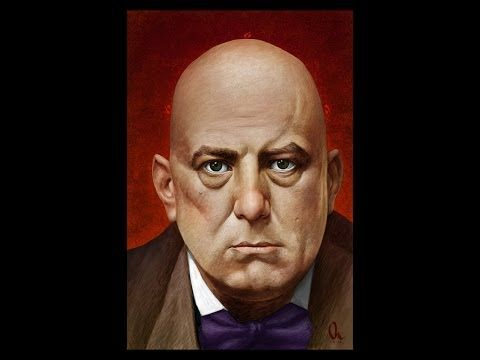Portrait of Aleister Crowley