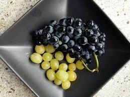Enjoy frozen grapes as a quick no-cook treat.
