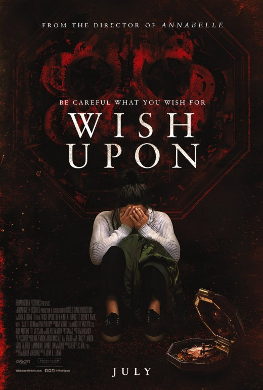 Wish Upon theatrical poster